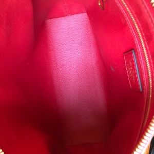 Louis Vuitton Bags - Louis Vuitton Pallas Brown and Red Clutch